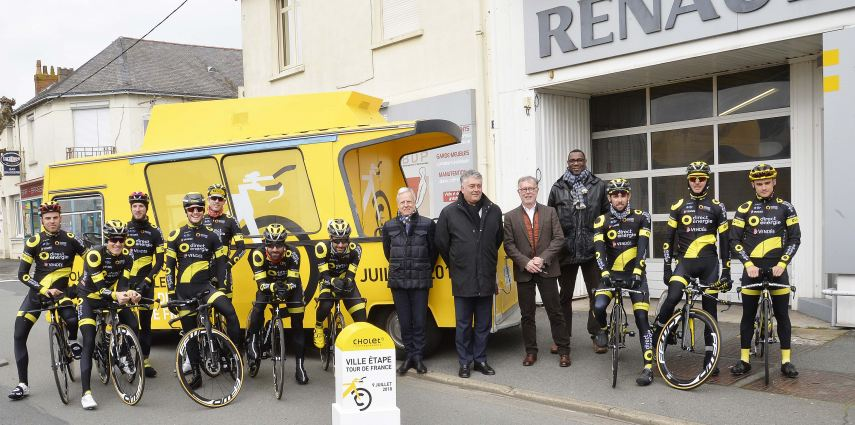 🚴 Tour de France 2018 : Accueil de l'équipe Direct Energie