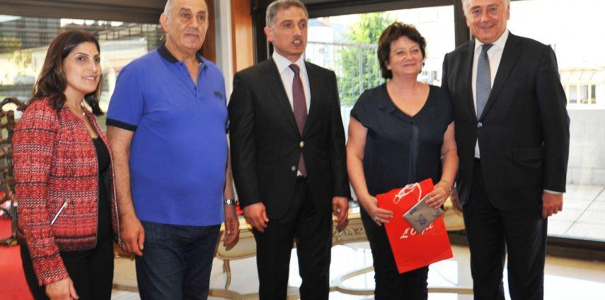 15 ans de partenariat Cholet-Araya