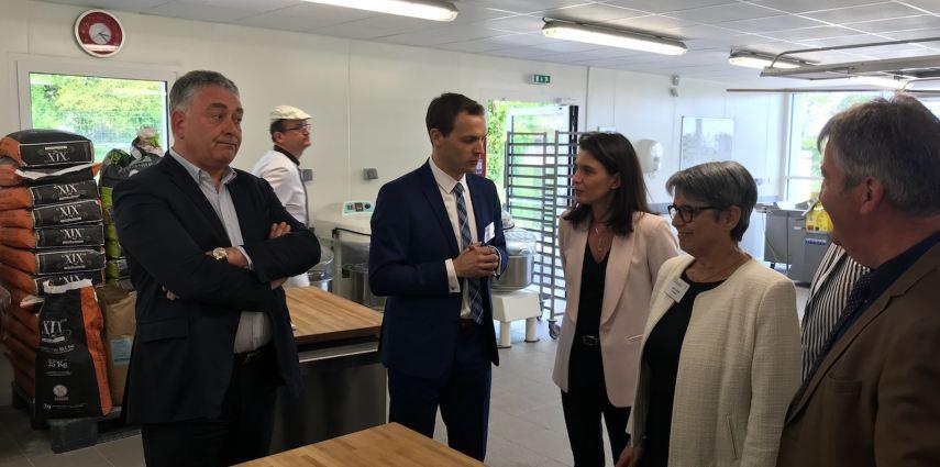 Visite des nouveaux locaux du CFA-MFR