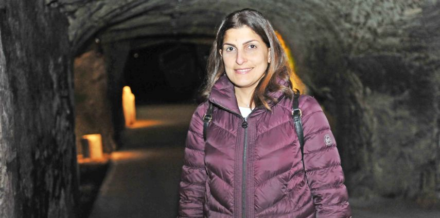 Cholet-Araya 🇫🇷 🇱🇧 : Visite des caves de Bouvet Ladubay